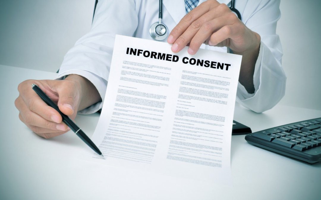 Updated Benzodiazepine Informed Consent Available