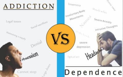 Dependence is Separate from Addiction