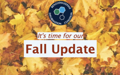Benzodiazepine Information Coalition's Fall 2019 Update