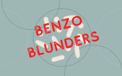 """Benzo Blunders: """"Do Prescription Sleeping Pills Actually Work?"""""""
