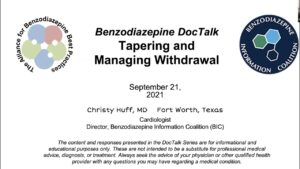 DocTalk4: Tapering and Managing Withdrawal w/ Christy Huff, MD